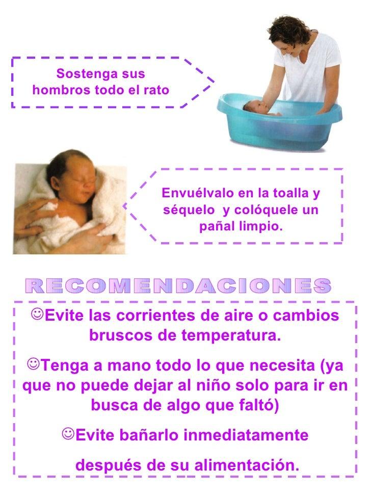 Rotafolio cuidados del recien nacido - Alimentos para ir al bano inmediatamente ...