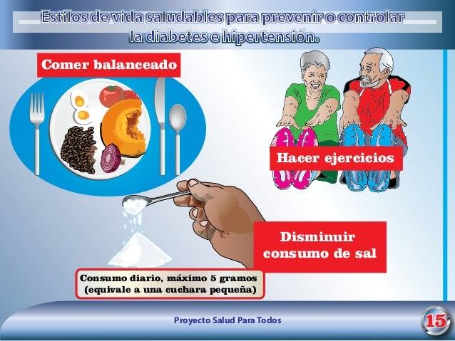 Rotafolio previniendo la diabetes