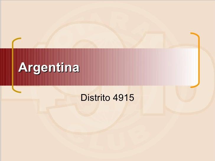 Rotaract   el distrito 4915