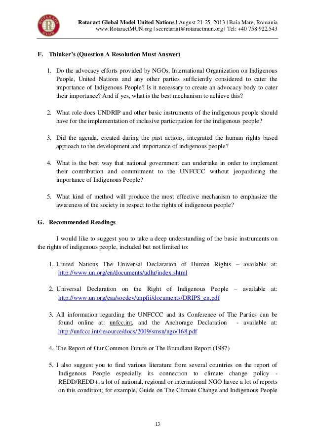 Rotaract mun human rights council studyguide