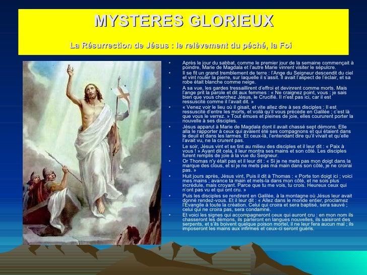 <ul><li>Après le jour du sabbat, comme le premier jour de la semaine commençait à poindre, Marie de Magdala et l'autre Mar...