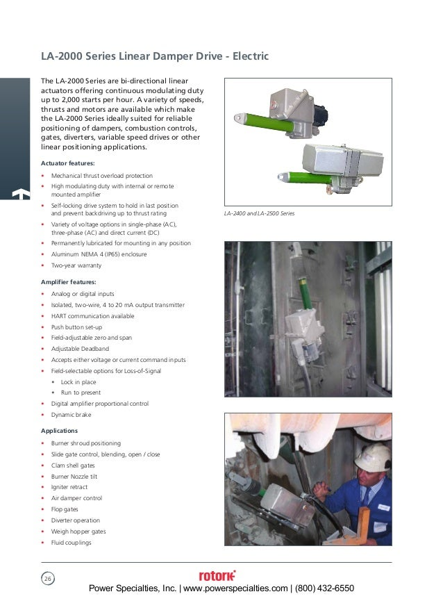 rotary and linear damper drives for control of combustion air and flue gas 26 638?cb=1500397415 rotary and linear damper drives for control of combustion air and flu  at gsmx.co