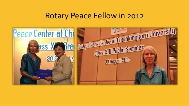 Building partnerships for peace Slide 2