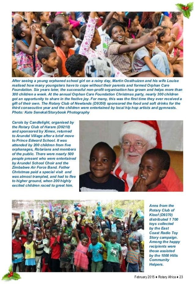 Toys N Joys Website : Rotary africa feb