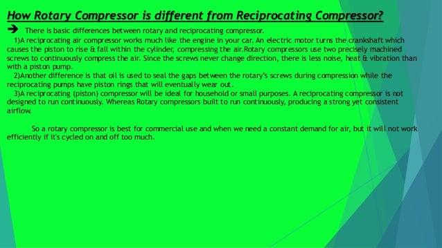 Rotary and liquid rim compressor Slide 3
