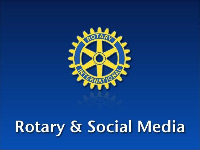 Rotary & Social Media