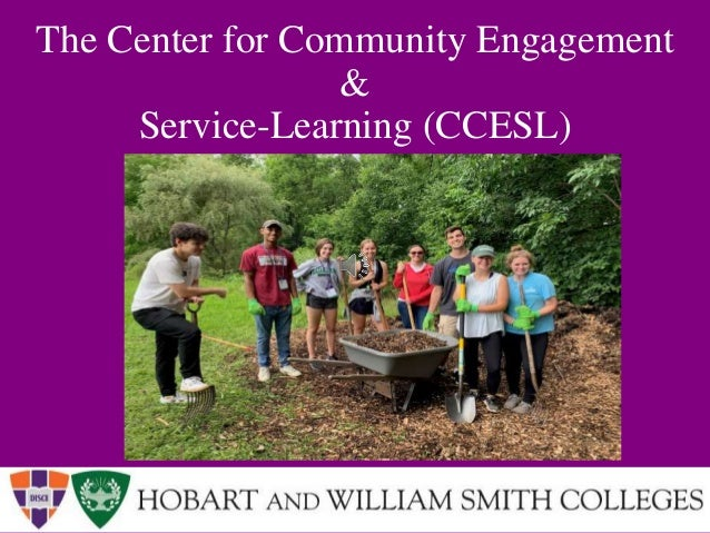 The Center for Community Engagement & Service-Learning (CCESL)