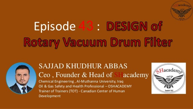 SAJJAD KHUDHUR ABBAS Ceo , Founder & Head of SHacademy Chemical Engineering , Al-Muthanna University, Iraq Oil & Gas Safet...