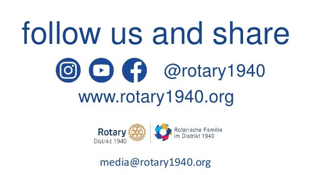 Service Above Selfie: Social Media in the Rotary Family