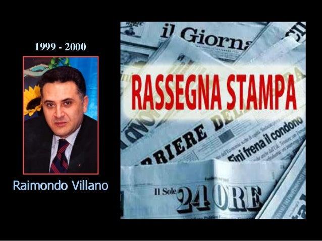 Raimondo Villano 1999 - 2000