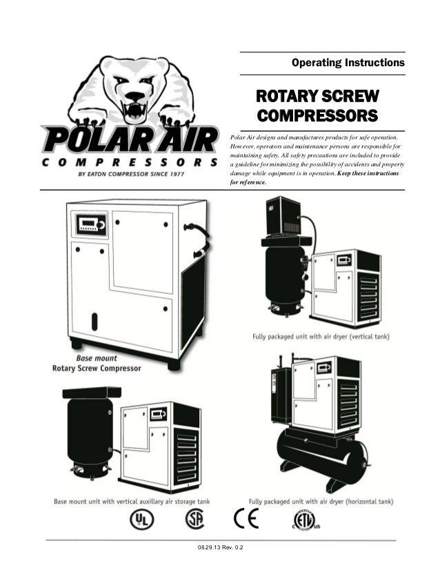 rotary screw compressors operating instructions manual rh slideshare net Kenmore Dryer Heating Element Wiring-Diagram Kenmore Dryer Schematics