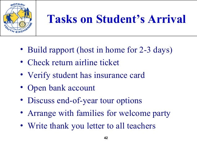 exchange student welcome letter Letters: foreign exchange students express which is only available when families open their minds and their doors to welcome an exchange student.