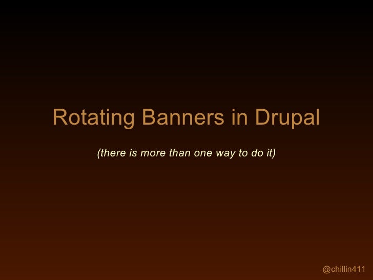 Drupal Banners Toy Car Banners