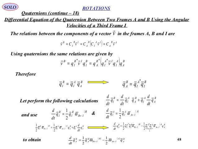 Euler Angles Quaternion - 0425