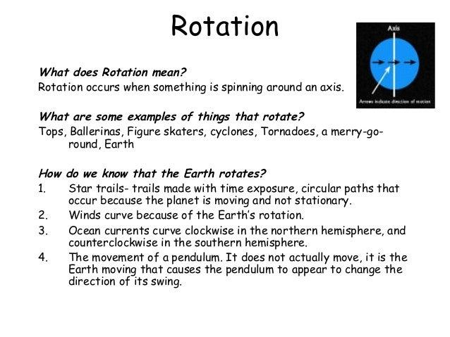 Rotation And Revolution Worksheets - Rringband