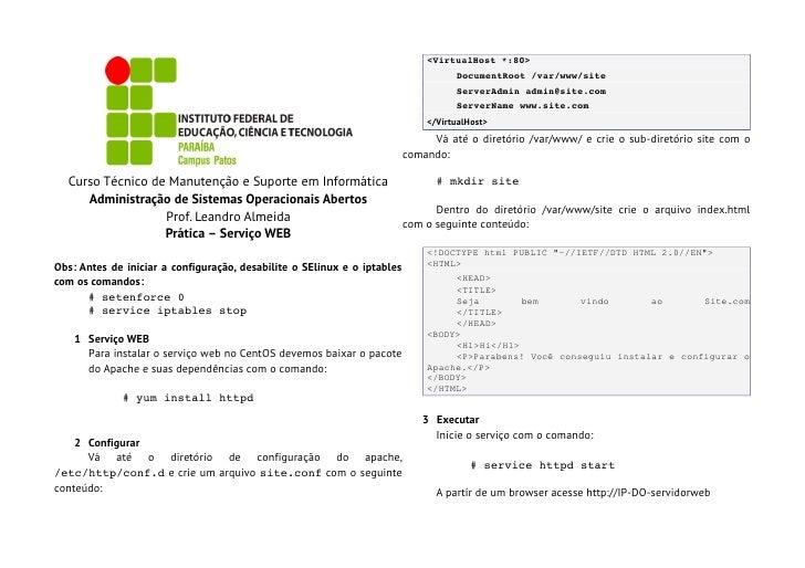 <VirtualHost*:80>                                                                                    DocumentRoot/var/ww...