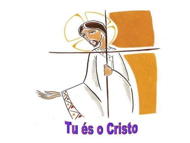 """Estamos aqui reunidos em oração, porque somos """"cristãos"""".Mas quem é Cristo para você?A Palavra de Deus nos propõe descobri..."""