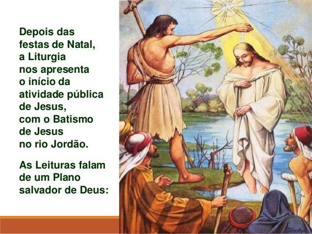 Resultado de imagem para solenidade do batismo do senhor