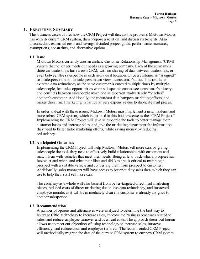 car sales business plan pdf