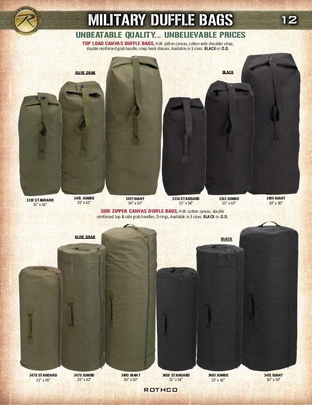 7800dd70a0c0 ... 13. OLIVE DRAB BLACK OLIVE DRAB BLACK TOP LOAD CANVAS DUFFLE BAGS ...