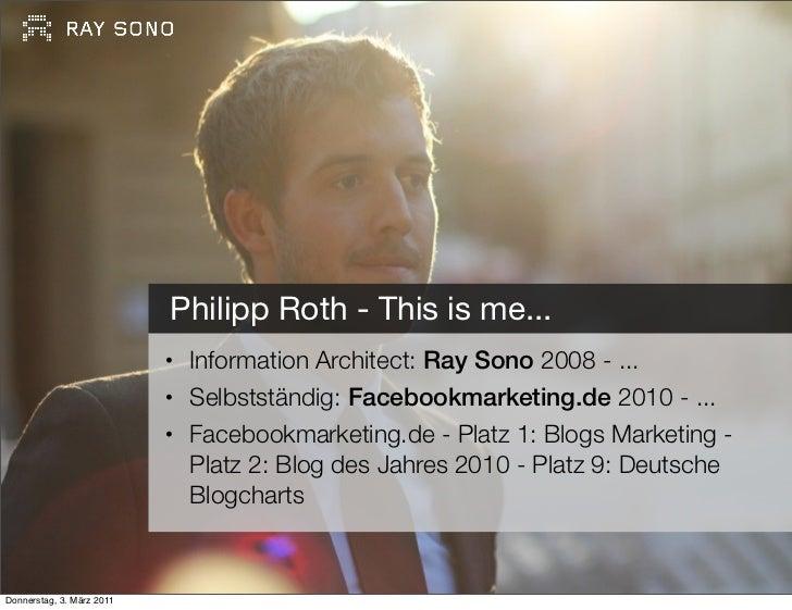 Philipp Roth, Facebookmarketing.de Slide 2