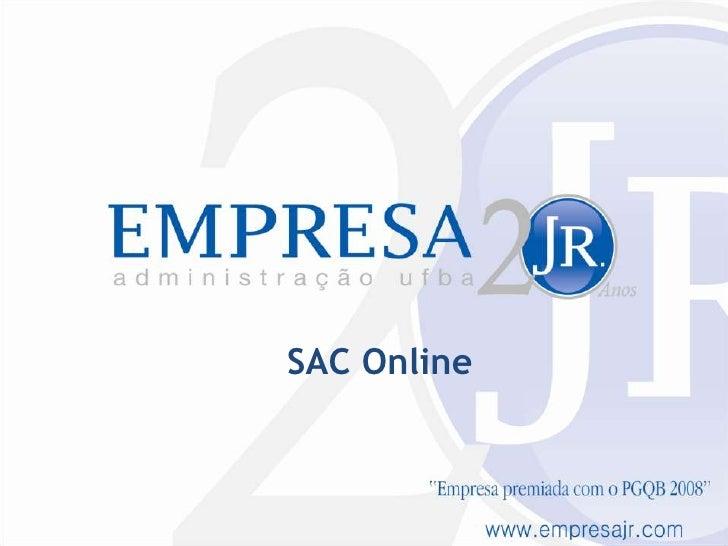 SAC Online<br />