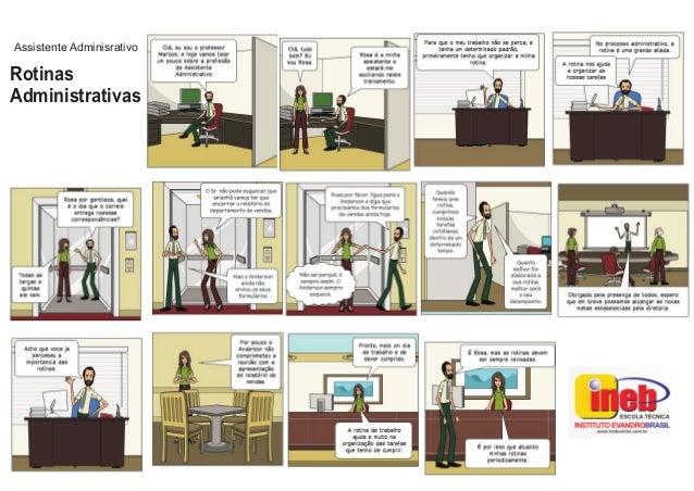 Rotinas Administrativas Assistente Adminisrativo