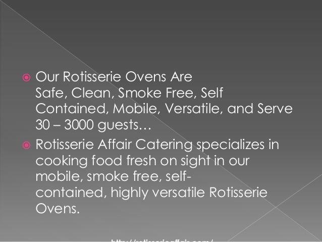 Rotisserie affair catering Slide 2