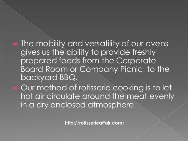 Rotisserie affair catering Slide 3