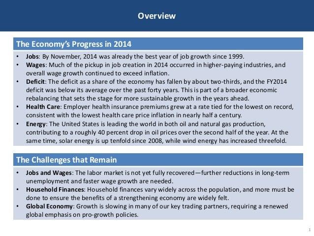 The Economy in 2014 Slide 2