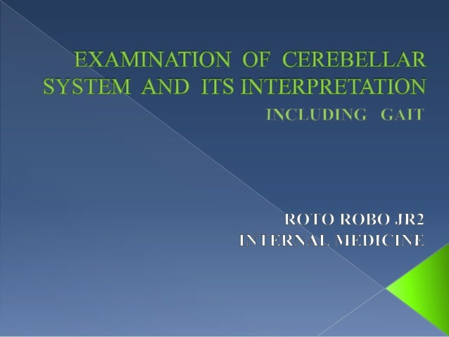 Cerebellum is the 2nd largest part of the brain occupyingthe posterior cranial fossa beneath the tentorium cerebellibelong...