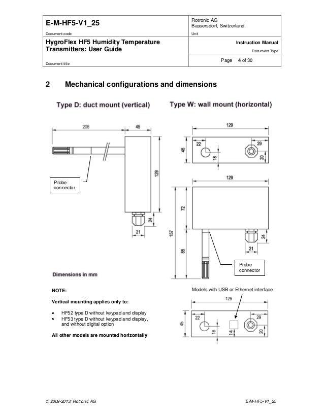 rotronic hygroflex hf5 humidity temperature transmitter instruction manual 4 638?cb\=1413520832 s image slidesharecdn com rotronichygroflexh  at gsmx.co