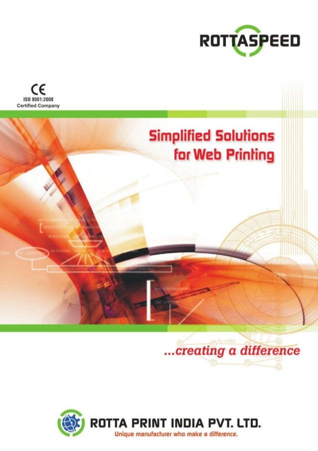 Rotta Print India Private Limited, Faridabad, Web Offset Printing Press & Newspaper Printing Press