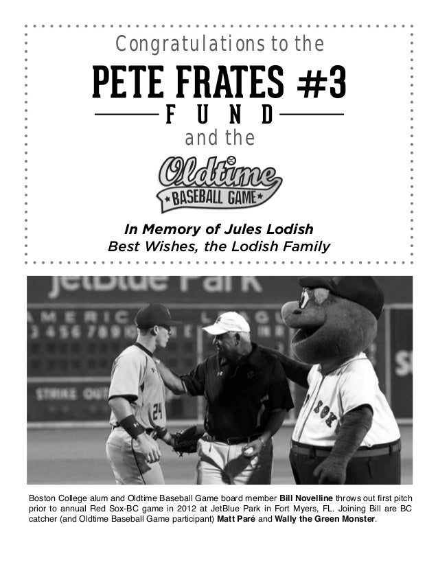 On April 13, 2013, Wellesley native and Duke University graduate Nate Freiman became the third veteran of the Oldtime Base...