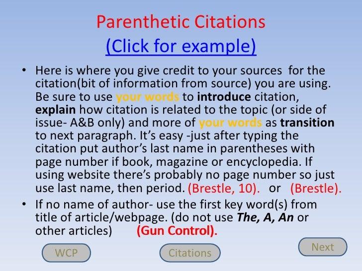 WCP Citations Next 6