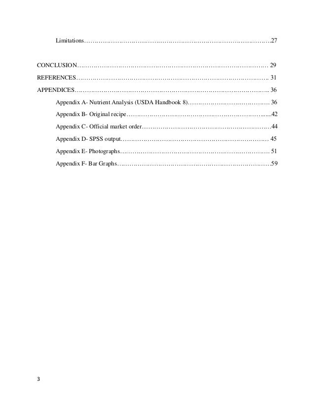 Term papers for foodservice