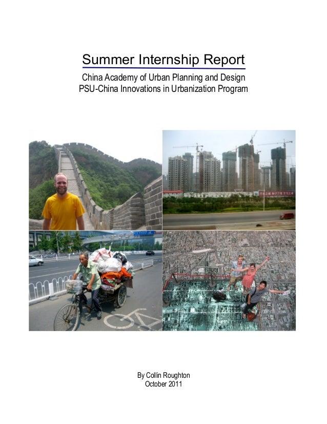 Roughton china intern report