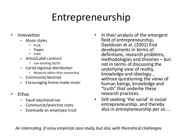 Rough trade a longitudinal study of a social enterprise Slide 2
