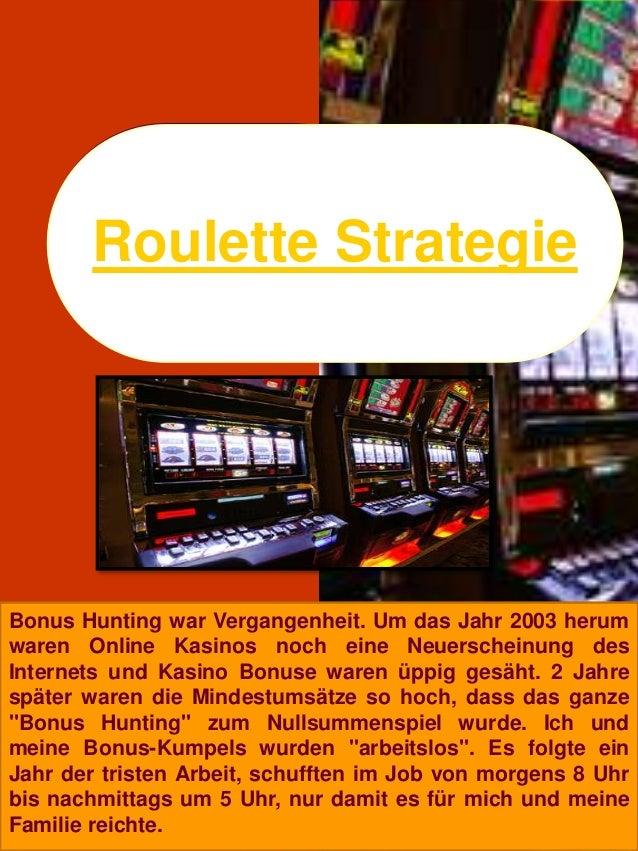 Roulette warfare system