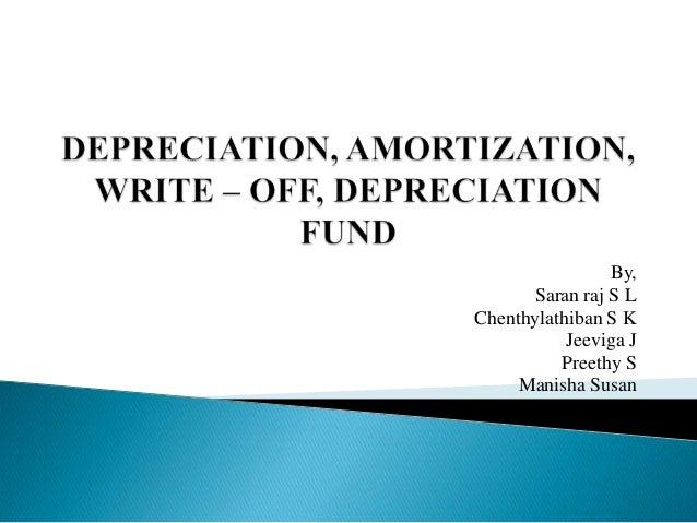 amortisation calculation