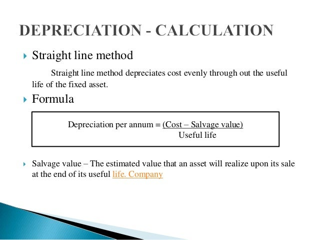 Depreciation Amortisation