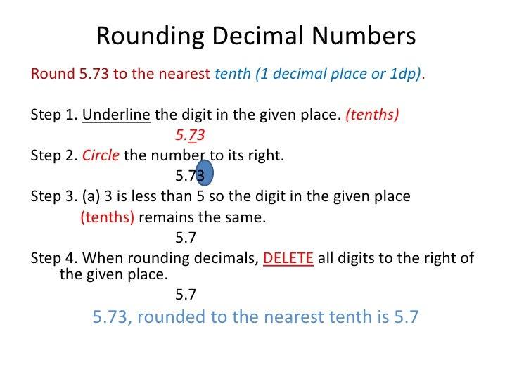 Common Worksheets Decimal Tenths Preschool and Kindergarten – Rounding Decimals to the Nearest Tenth Worksheet
