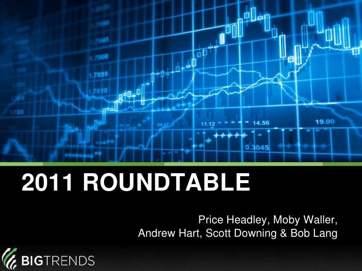 2011 ROUNDTABLE<br />Price Headley, Moby Waller, Andrew Hart, Scott Downing & Bob Lang<br />