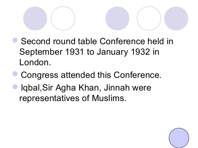 second round table conference