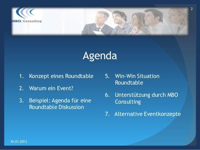 Roundtable - Erfolgreiche Offshoring Lösungen  Slide 2