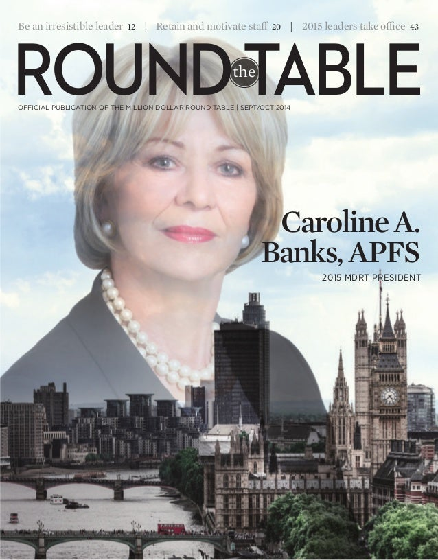 Round the table magazine . september - October 2014