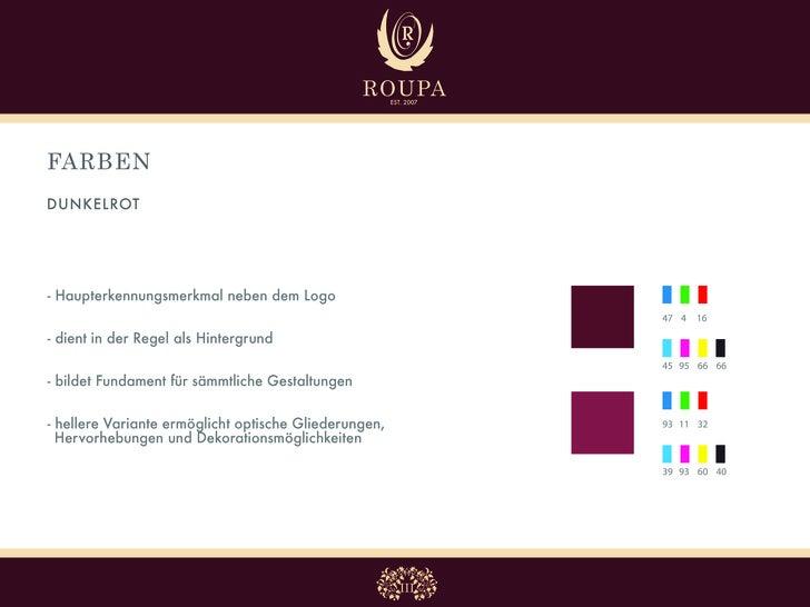FARBEN BEIGE     - Verwendung bei Schrift, Auszeichnungen   oder Logo auf dunklem Rot  - harmoniert mit warmen Rottönen   ...