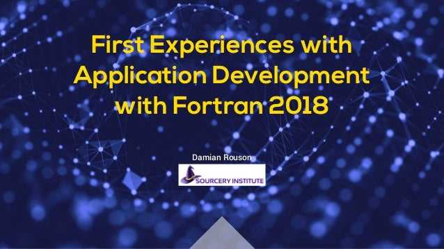 First Experiences with Parallel Application Development in