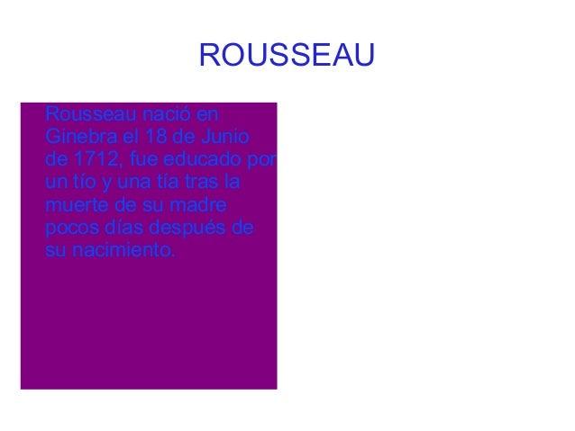 Rousseau 3 Slide 3