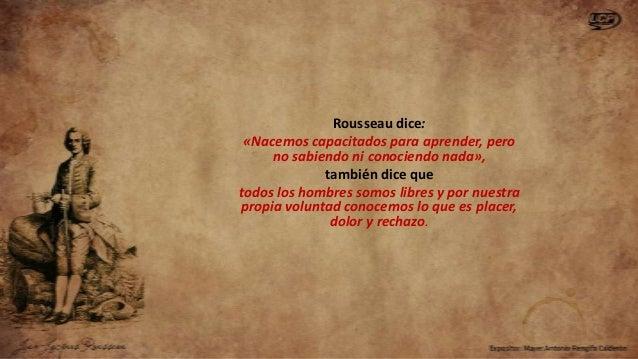 Rousseau - Guía de Esposición